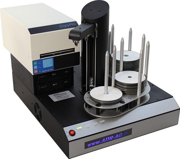 CD-Kopierer mit Thermodrucker
